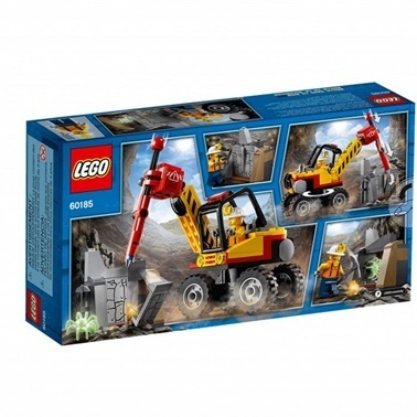 Lego LEGO City Mining M Power Splitter Renkli
